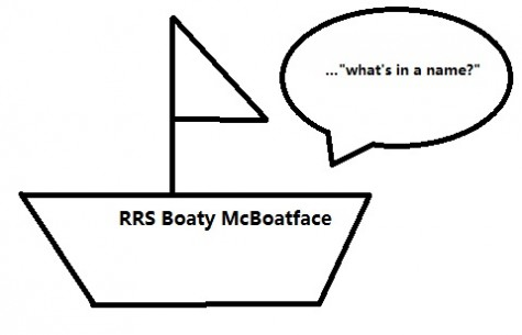 Meet Boaty McBoatface.  No, Really!