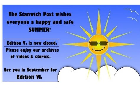 SUMMER EDITION – Happy Summer! A Message from the Outgoing Editor; Edition V. Closes