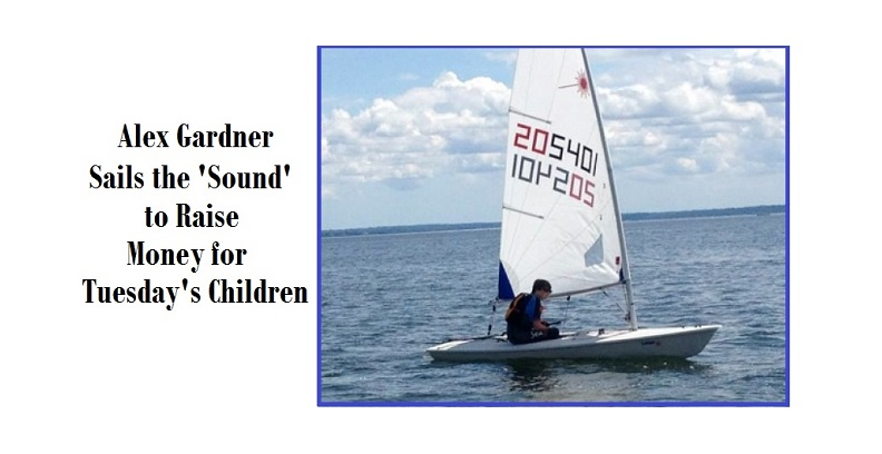 "Stanwich Senior to Sail the Sound; Personal Journey & Dedication to ""Tuesday's Children"""