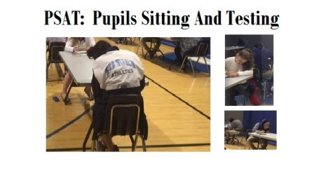 High Schoolers Sit for the PSAT