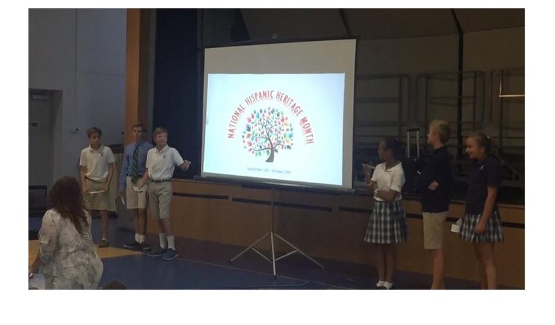 SPVR – Hispanic Heritage Student Presentation
