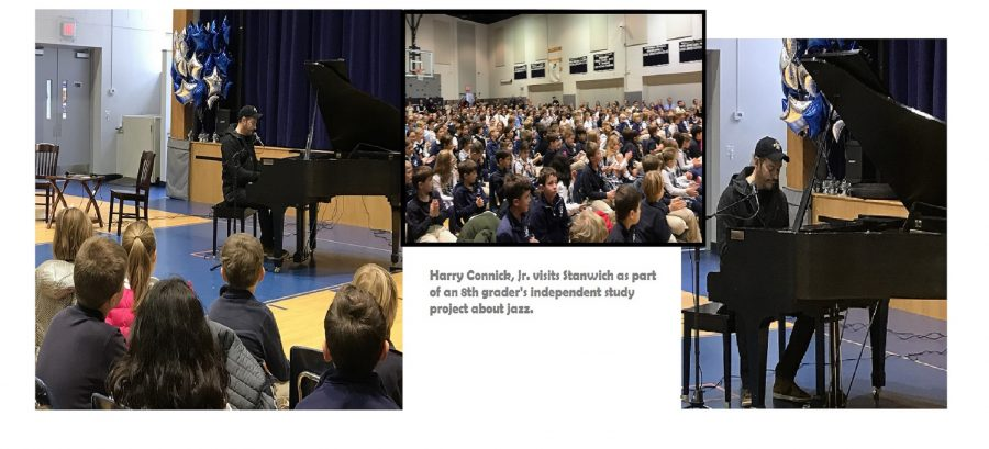 Student Project Brings Harry Connick, Jr. to Stanwich