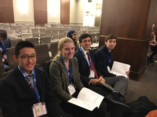 M.U.N. Team Goes to NYC; Represents Cambodia at International Conference