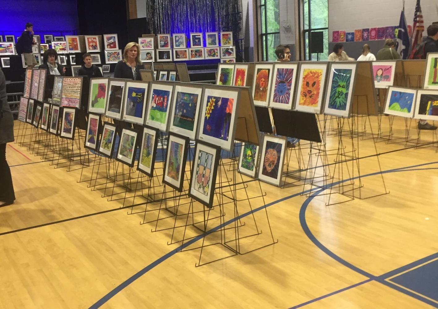 School-Wide Art Expo Exhibits Student Creativity, Artistic Eyes