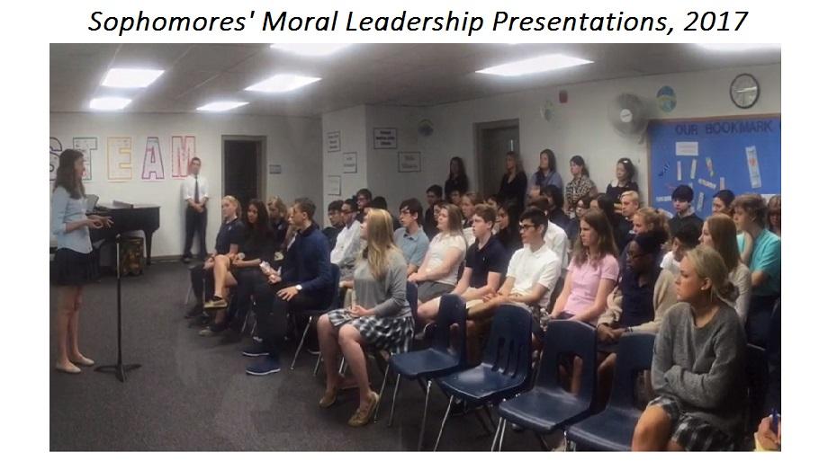 SPVR – Sophomores' Moral Leadership Presentations 2017 [video]