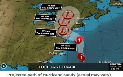 Hurricane Sandy Closes Stanwich All Week; Major Clean-Up Underway