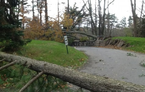 Clean Up Underway as Post-Sandy Photos of Campus Emerge