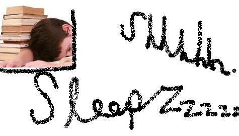 Sleep, Sleep, More Sleep