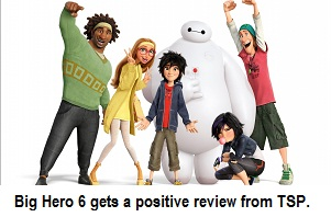 """Big Hero 6"" is Saves the Day"