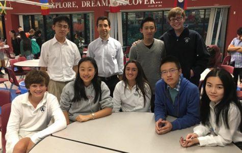 Math Team: Computes and Scores!