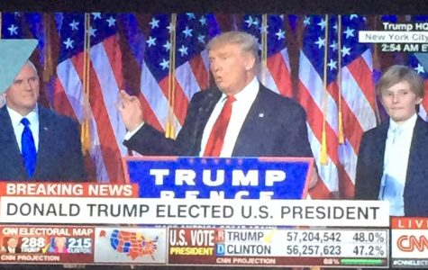 Donald Trump Elected as the 45th President
