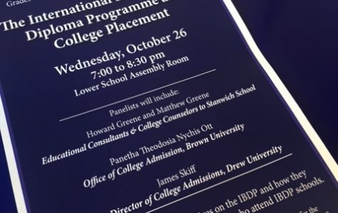 I.B. College Night Draws Interest as School Works Through Candidacy Phase