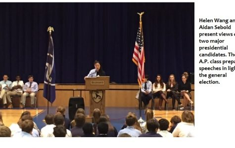 A.P. Class Represents 2016 Presidential Candidates