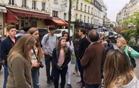 """Sophomores """"Travel Fast in Paris"""" [link to photos]"""