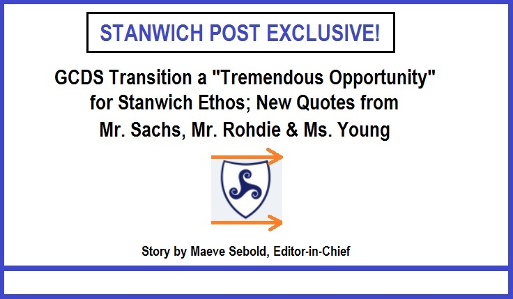 "***EXCLUSIVE*** GCDS Transition a ""Tremendous Opportunity"" for Stanwich Ethos; Exclusive Quotes from Mr. Sachs, Mr. Rohdie, Ms. Young"