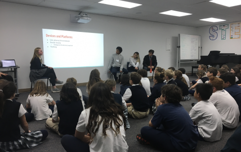 High Schoolers Hold Social Media Education Session with Grade 5