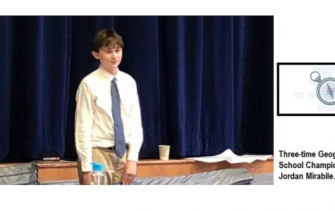 8th Grader Wins GeoBee for Third Title in a Row