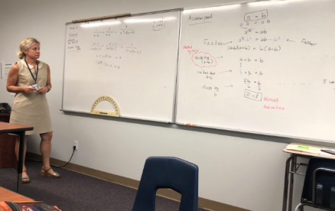 Ms. Iversen Is a Wonderful 'Addition' to Upper School Math