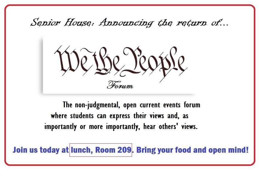We the People Returns for Another Year of Discussion